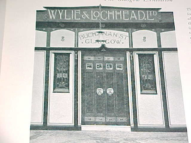 Wylie & Lochhead shopfront from 1903 please daniel you must find it so we can put it on our shop :)